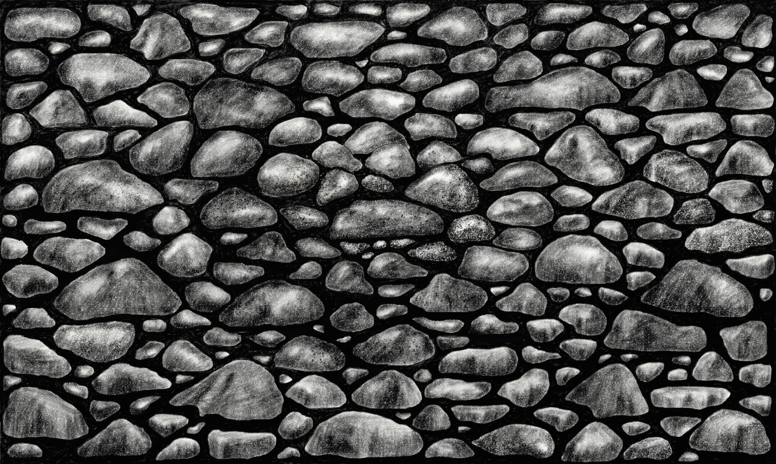 stones--b-w-